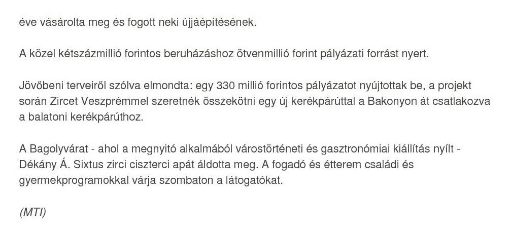 Kormány.hu cikk 2