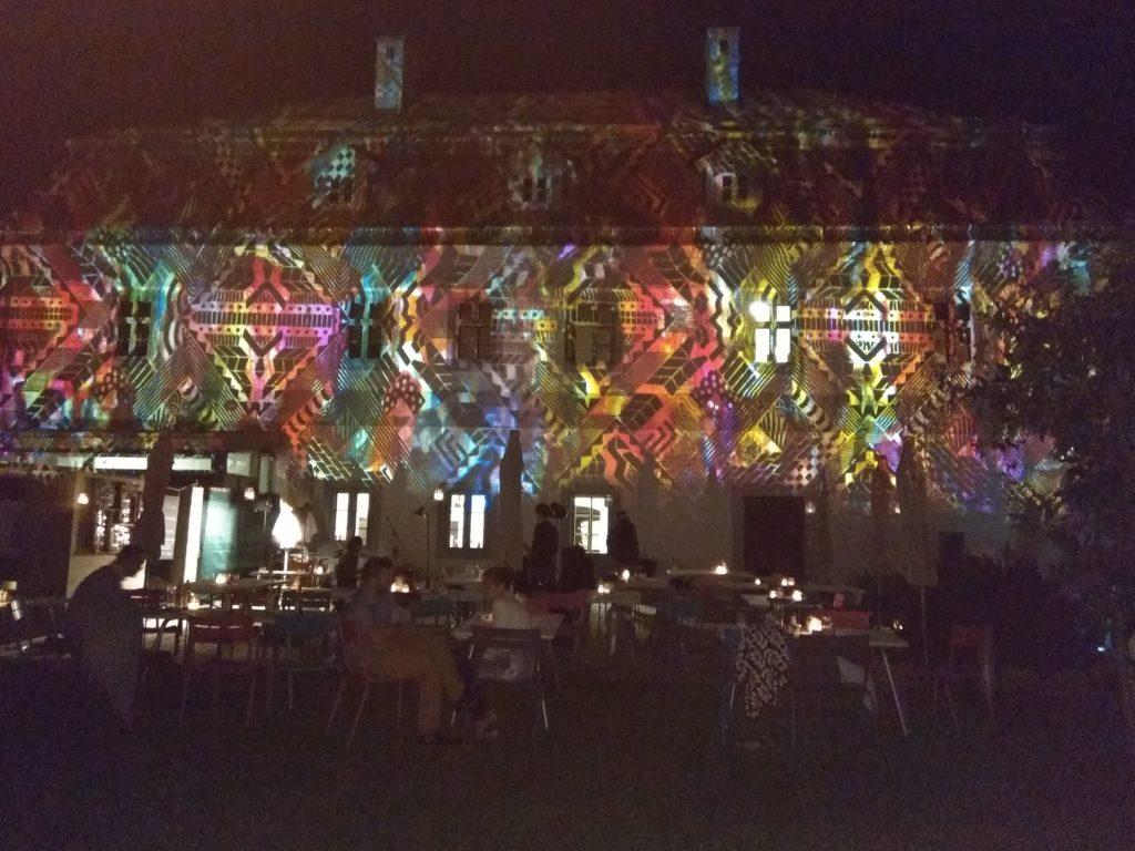 Esküvői fényfestés a Bagolyváron
