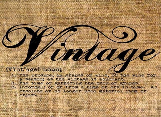 Vintage szó jelentése