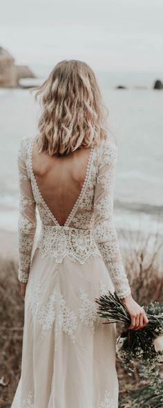 Vintage esküvői ruha