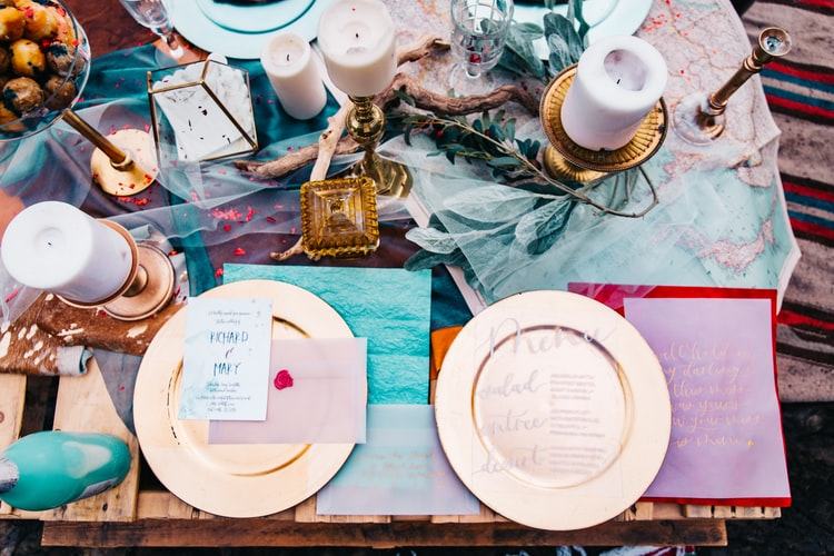 Milyen egy modern esküvői menüsor?