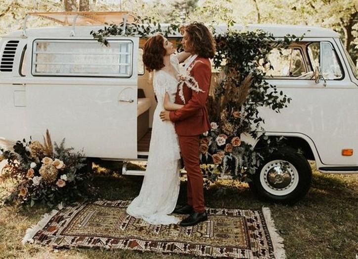 Milyen egy bohém esküvő?