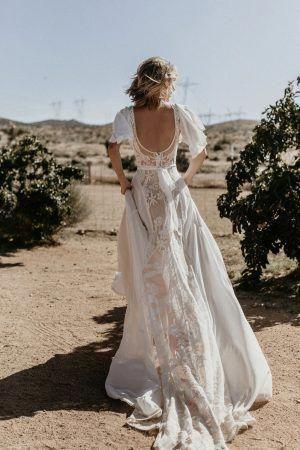 Milyen ruha illik egy bohém esküvői szertartásra?