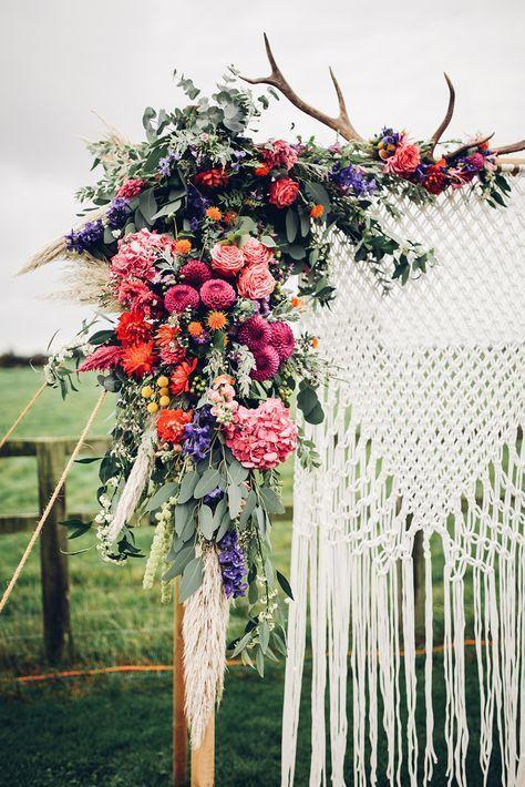 Esküvői virágdekordáció