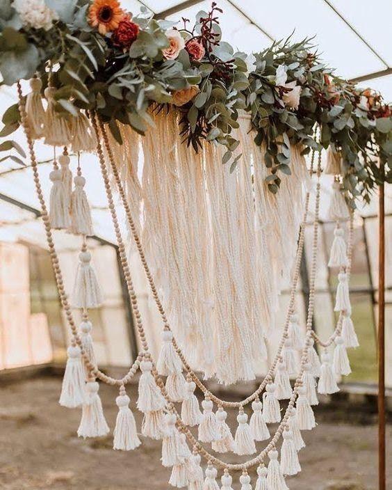 Virágok egy esküvőn