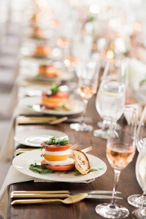 Milyen ételek és italok illenek egy nyári esküvőre?