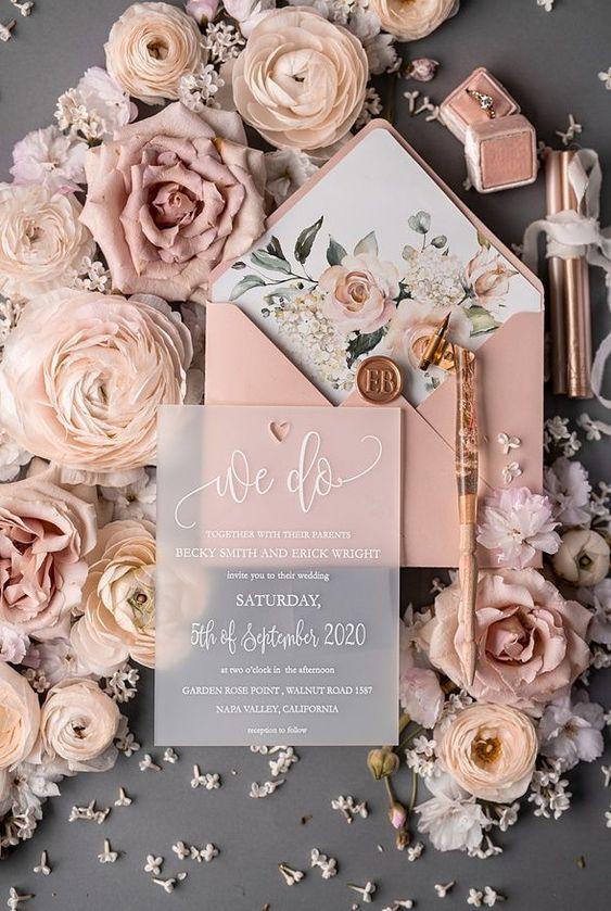 Mit lehet kommunikálni egy esküvői meghívón?