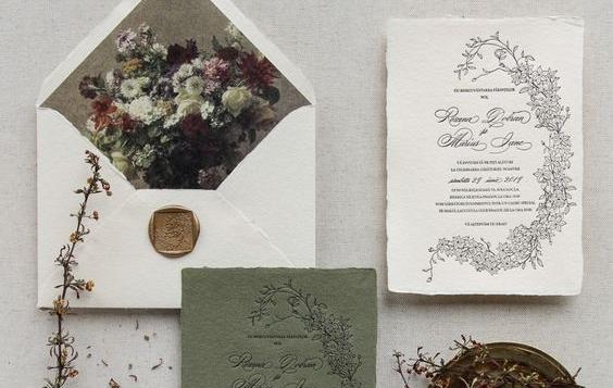 Mit írj egy vintage esküvői meghívóra?