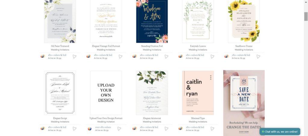 Esküvői meghívó a basicinvite-tal