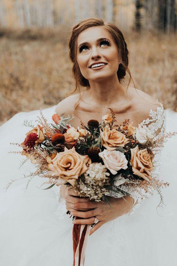 Őszi esküvői divat