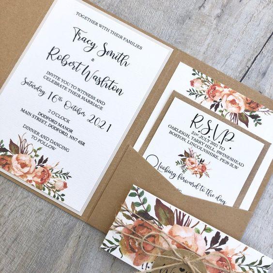 Miknek kell megfelelnie egy esküvői meghívó dizájnjának?