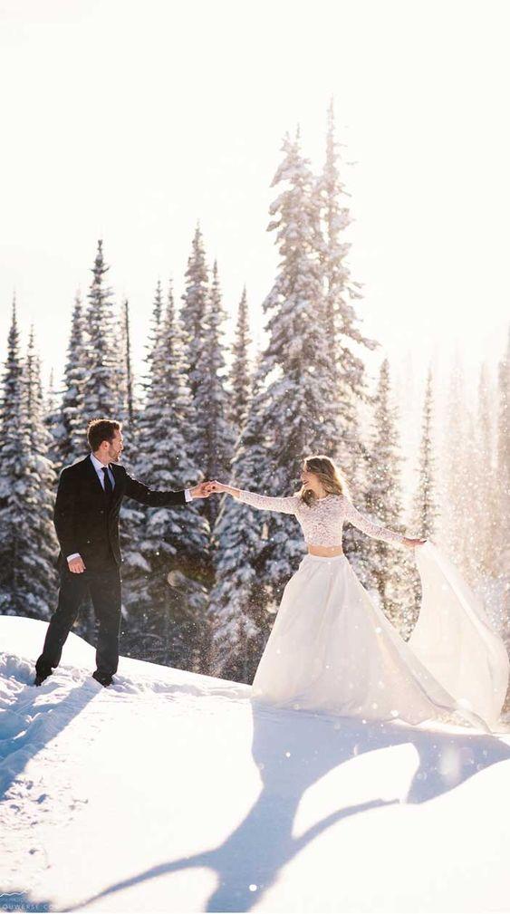 Esküvő télen