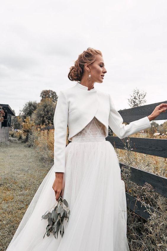 Milyen ruha illik egy télen tartott esküvőre?
