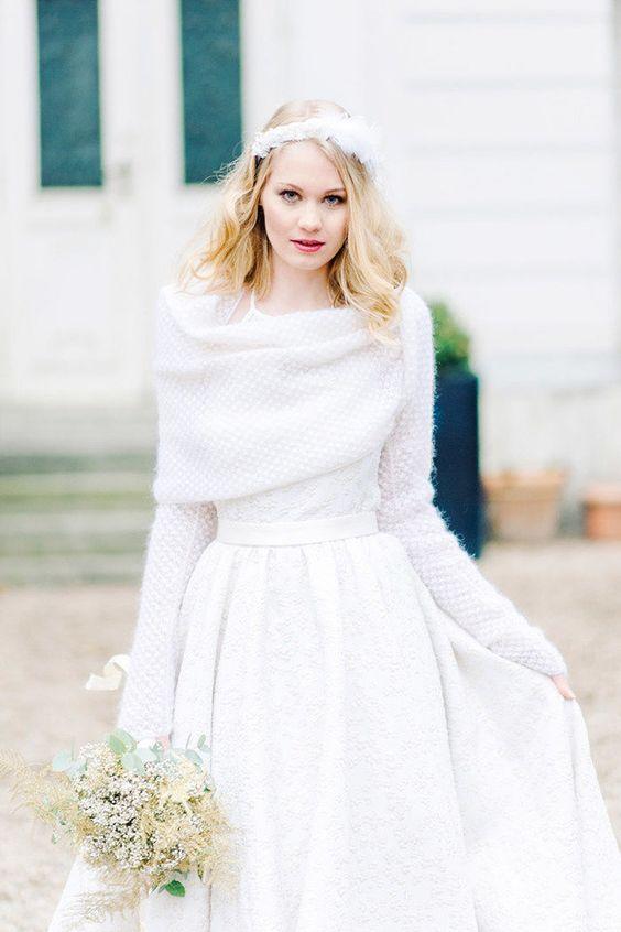 Ruha téli esküvőre