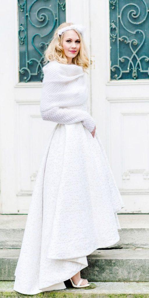 Téli esküvői ruha