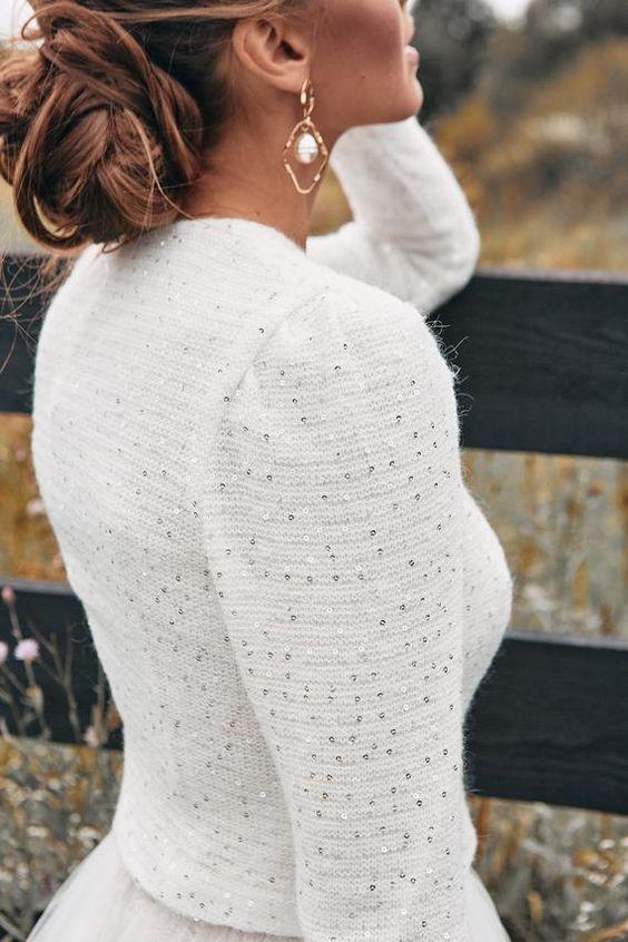 Mire kell figyelni egy téli esküvői ruha kiválasztásakor?