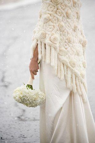 Milyen egy téli menyasszonyi ruha?