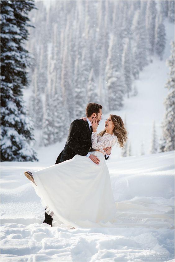 Fotózás a havas tájon