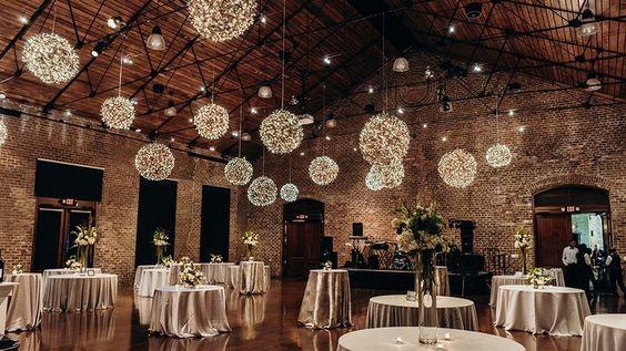 Esküvői megvilágítás