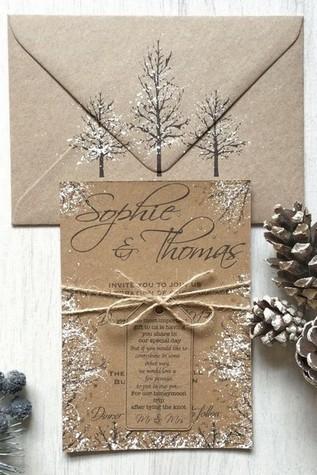 Téli esküvő szervezése